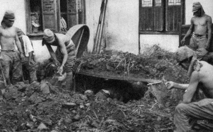 罪证:真实的日军侵华图集-上海战场(三)