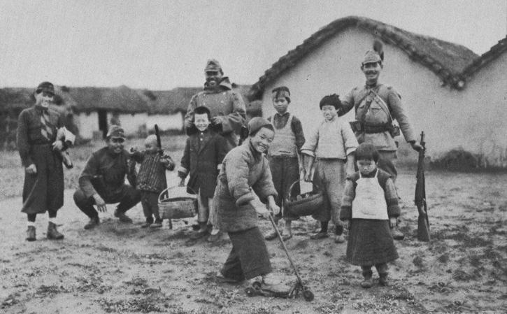 罪证:真实的日军侵华图集-上海战场(十一)