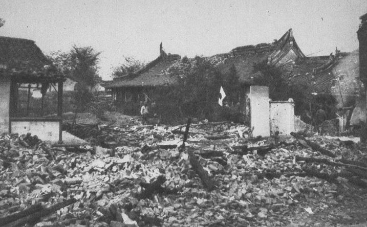 罪证:真实的日军侵华图集-上海战场(五)