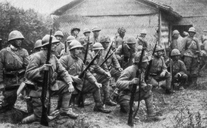 罪证:真实的日军侵华图集-上海战场(十)