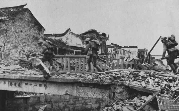 罪证:真实的日军侵华图集-上海战场(十三)