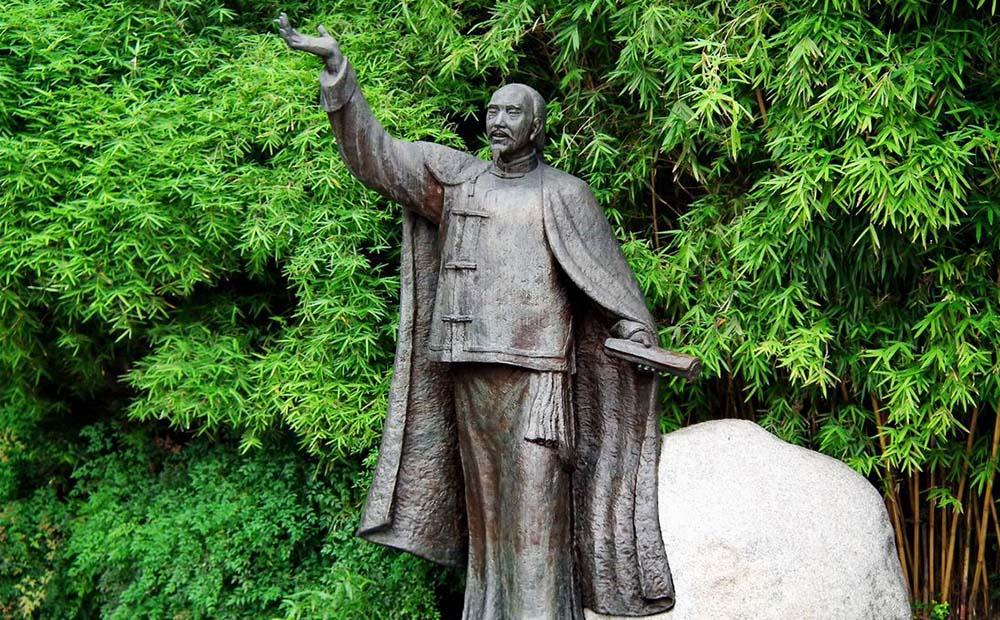 龚自珍雕像