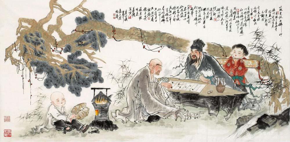 苏轼与佛印