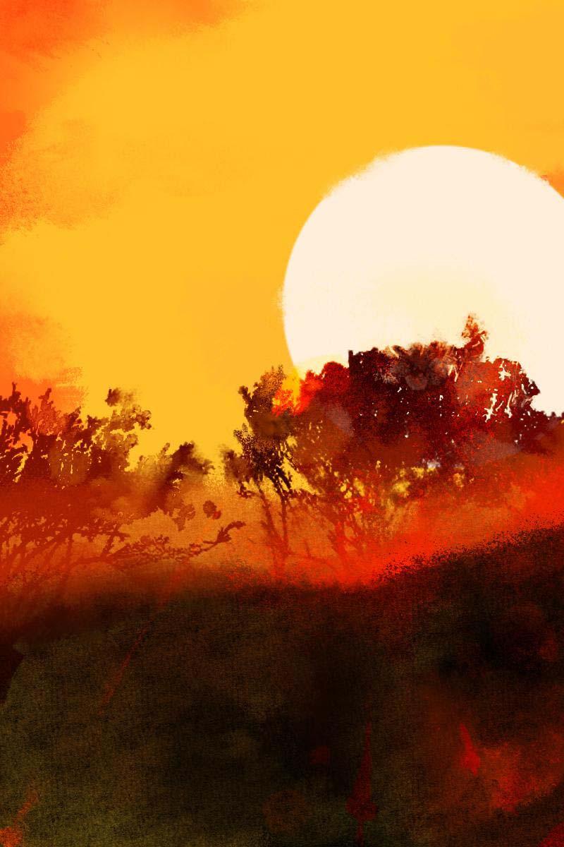 招摇山的日出